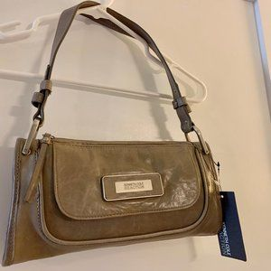 Kenneth Cole Reaction Leather Handbag - Stone